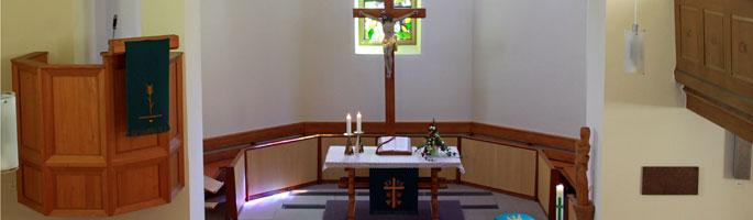 Evangelische Nikolauskirche in Kirnbach bei Wolfach