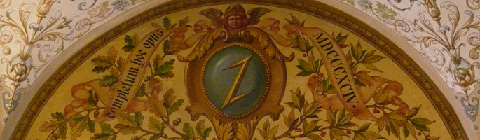 FS Rathaus Gemälde im Eingang